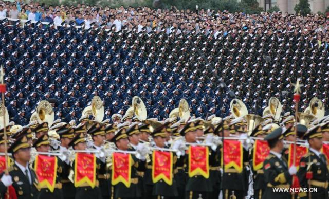 Parada militara 70 de ani WW II, repetitie 5