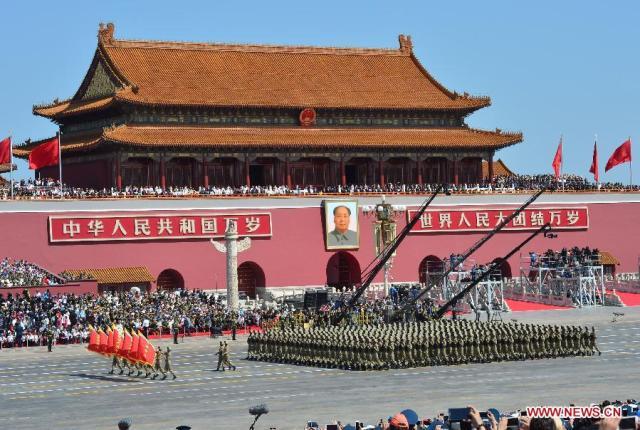 Parada China 70 Ani WWII, 03.09.2015 4