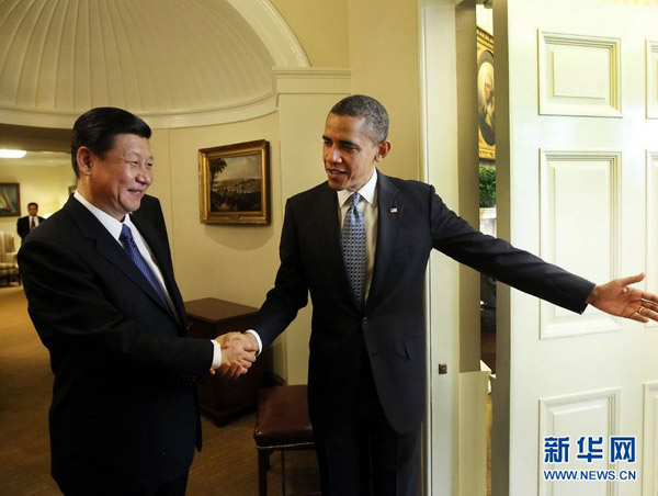 Xi Jinping - Barack Obamma