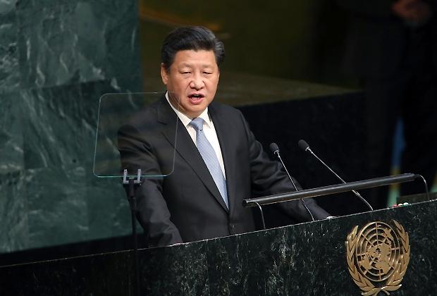 Xi Jinping, ONU 2015