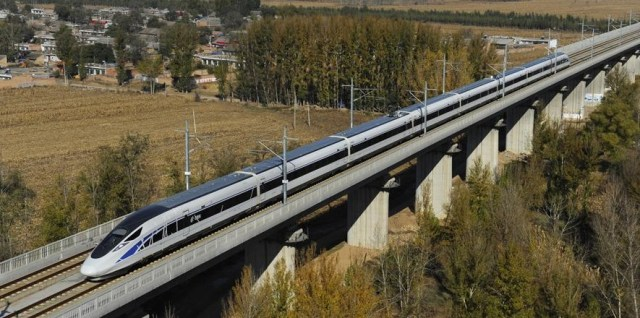 Tren de mare viteza Datong - Xian 1