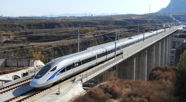 Tren de mare viteza Datong - Xian 4