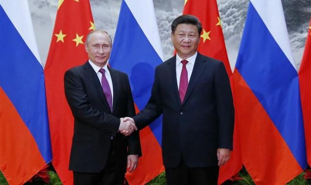 A Xi Jiping-Vladimir Putin, Beijing, 25 iunie 2016
