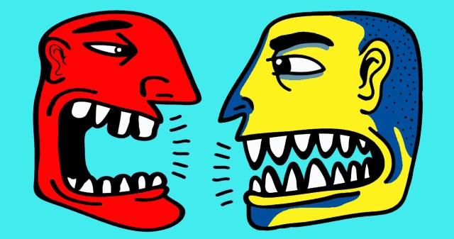 Dialog stanga-drapta
