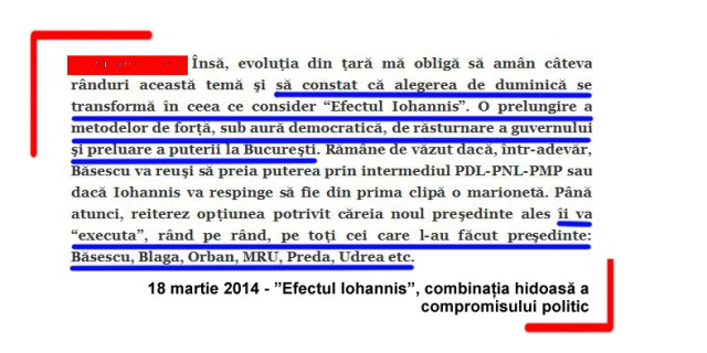 Efectul Iohannis, combinatia hidoasa a compromisului politic