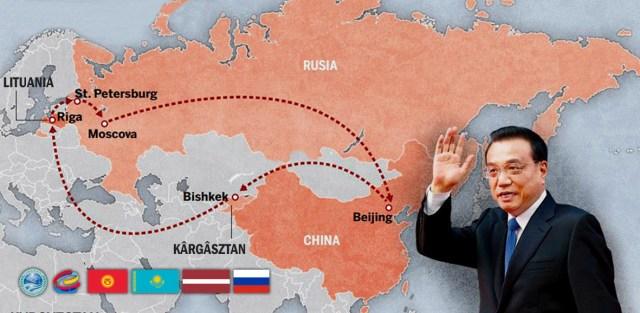 China Traseu Euro-Asiatic 2-9 nov 2016