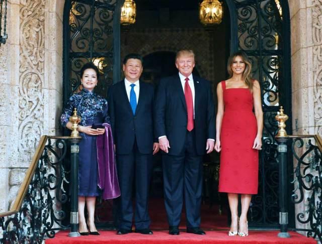 Donald Trump - Xi Jinping_Florida 6.04.2017 b