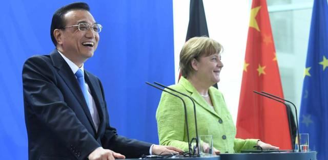 Li Keqiang, Angela Merkel_1 iunie 2017, Berlin