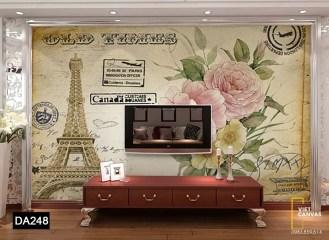 tranh dán tường nước Pháp