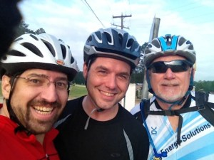 Joe, John, & Woody, before the hills took their toll