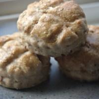 Spelt sunflower seed-flax seed biscuits (Magos pogácsa teljes kiőrlésű tönkölylisztből)