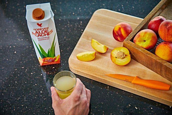 Aloe Peaches - un produs unic forever romania