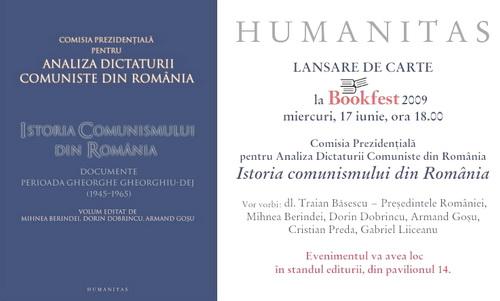 Istoria Comunismului din Romania