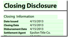 What Started As A Project To See If I Could, Has Turned Into A Pretty Cool  Learning Tool For The New Closing Disclosure And Loan Estimate Forms.
