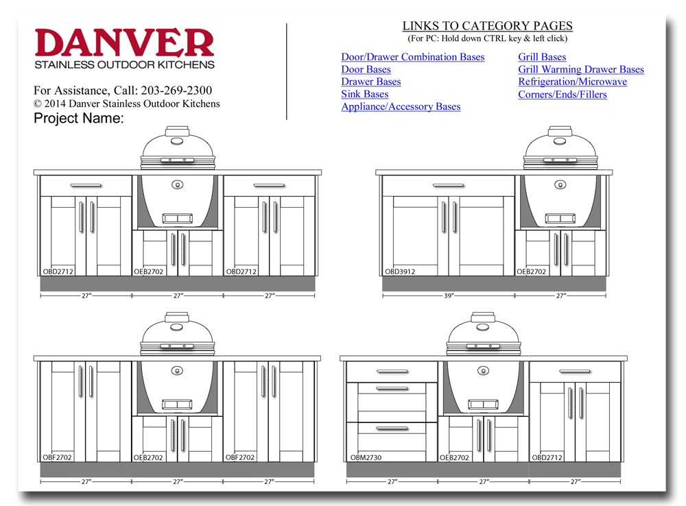 Design Your Own Outdoor Kitchen With Danver