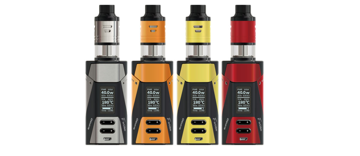 Revue Ehpro 2-in-1 Fusion 150W TC Kit.