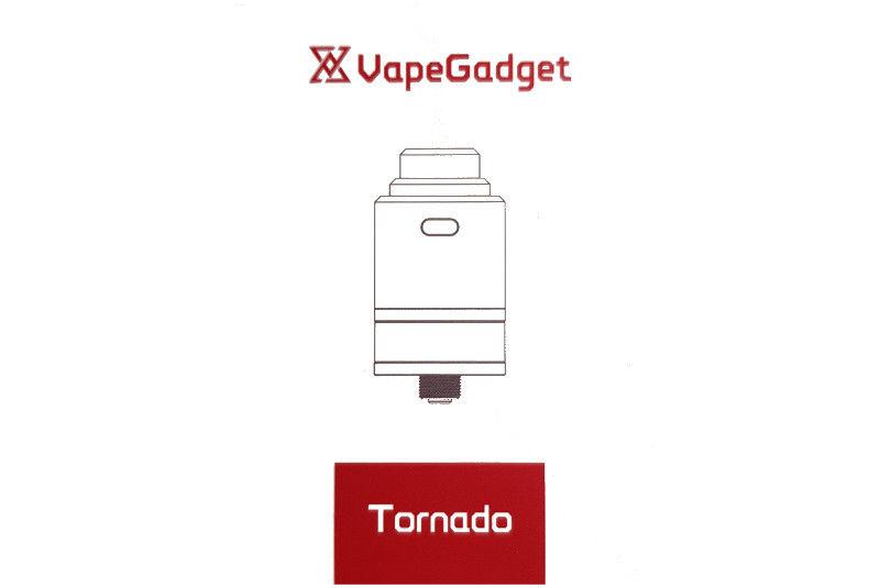 Tornado RDTA par VapeGadget, la bonne surprise