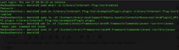 Java-error