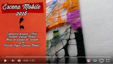 2016 Escena Mobile   Exposición plástica 'Hilos'