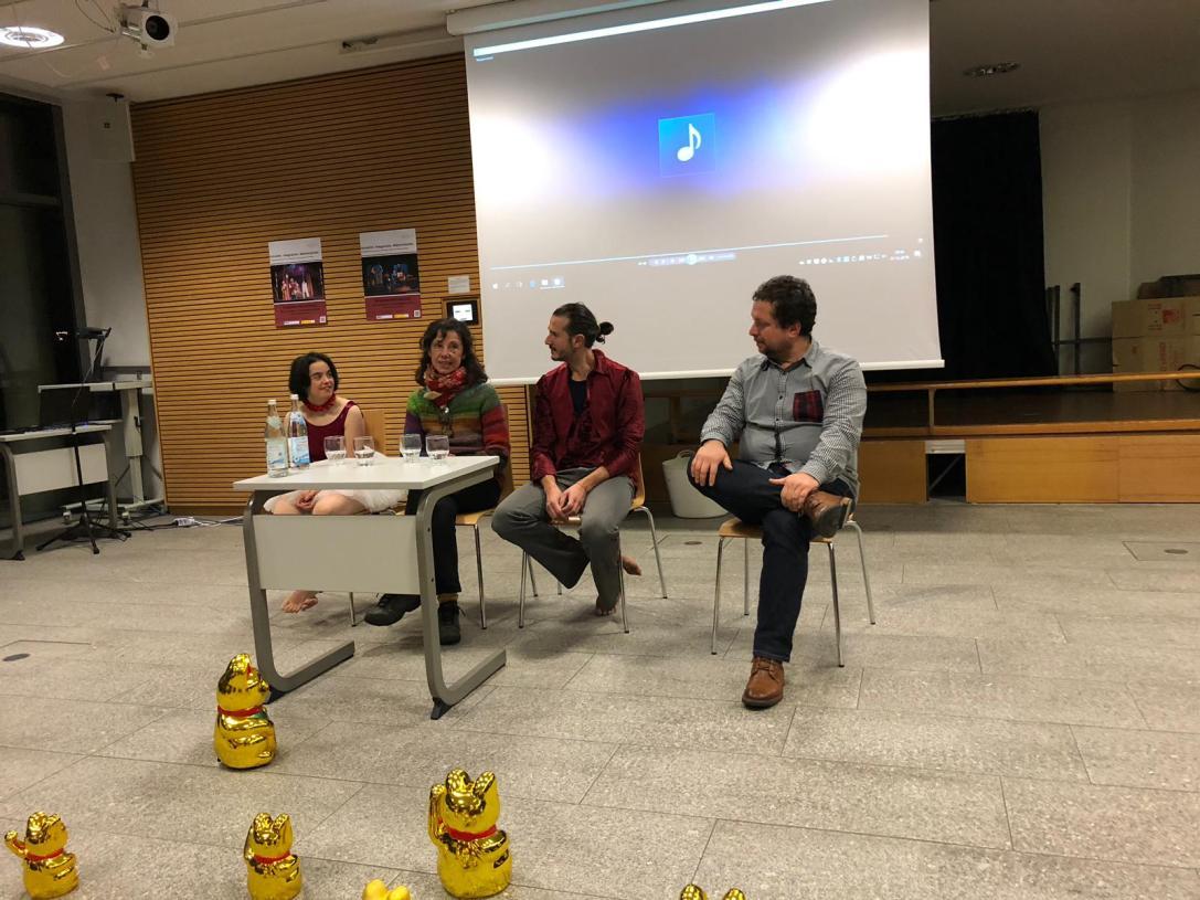 Danza Mobile participó en el Congreso Internacional sobre Inclusión en la Universidad de Passau