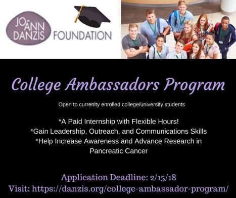 College Ambassadors Program fbpagepoist