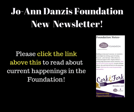 Jo-Ann Danzis FoundationNow Has a Newsletter! (1)