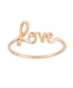 Daoro-91 Gold Love Ring