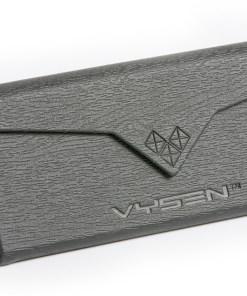 Black Wood Grain PU Foldable Case