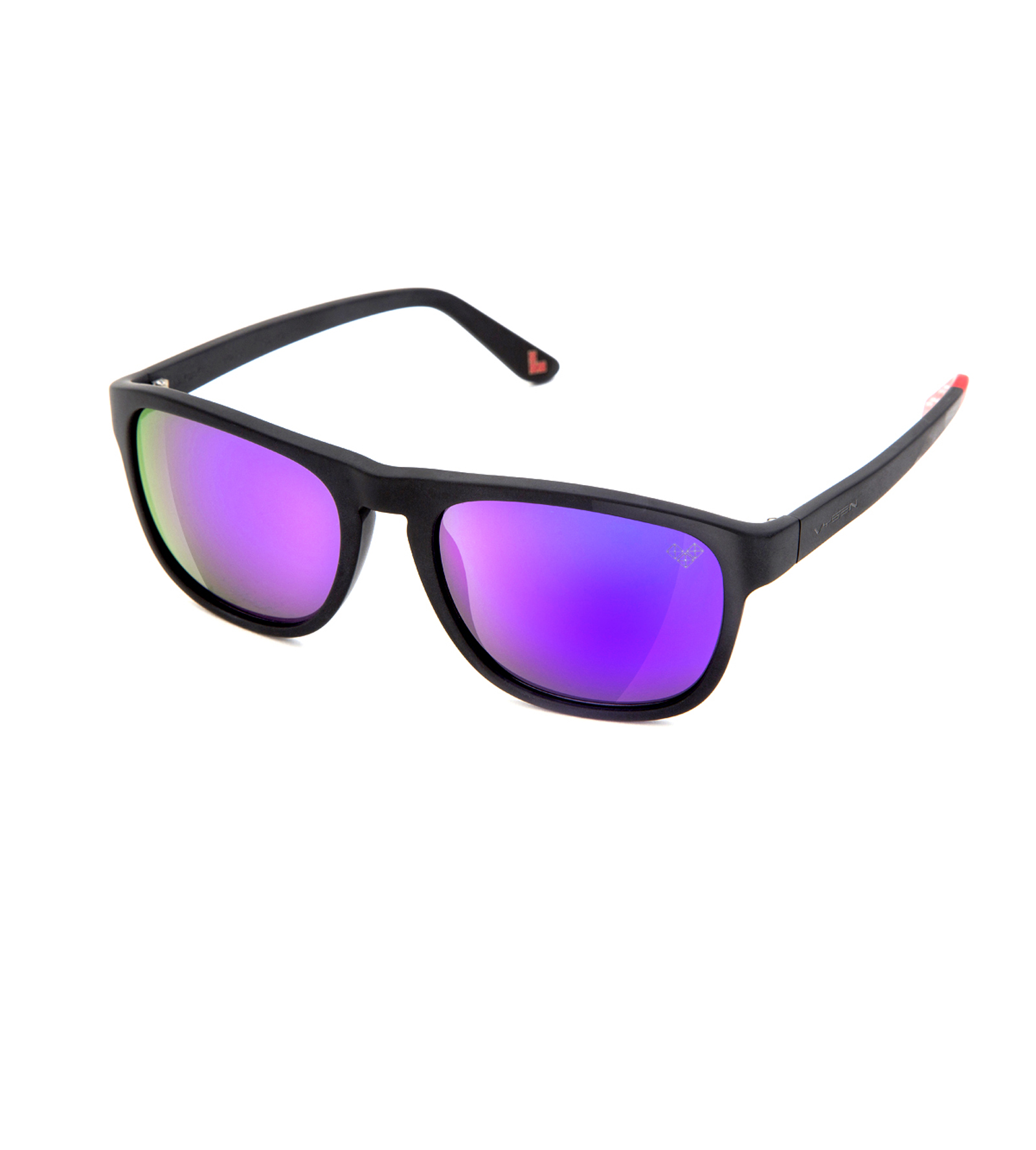 MAYDAY-Md6P-P with Purple Mirror Polarized Lenses