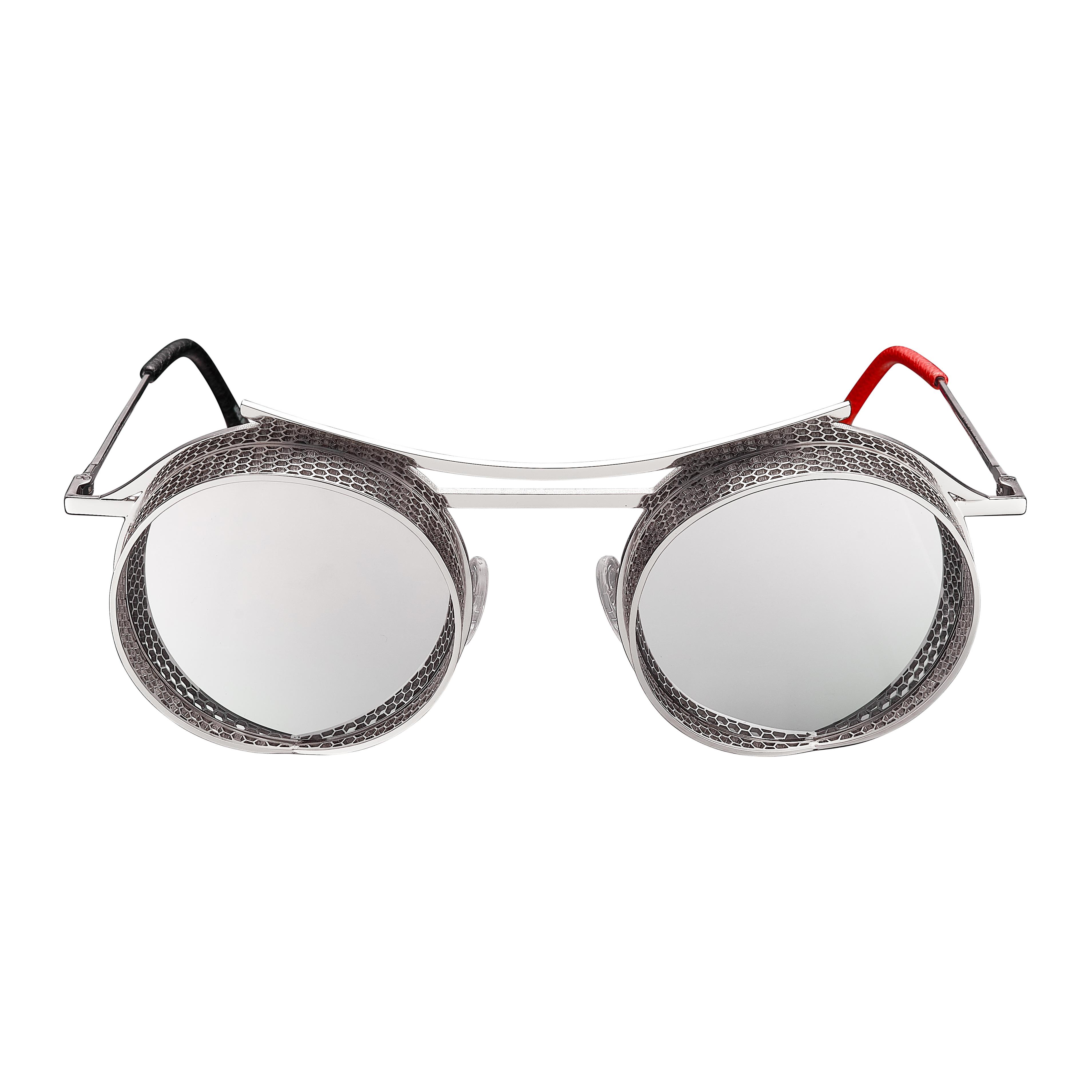 ONIX - OX - 2 - Shiny Silver Frame + Silver Mirror Lenses