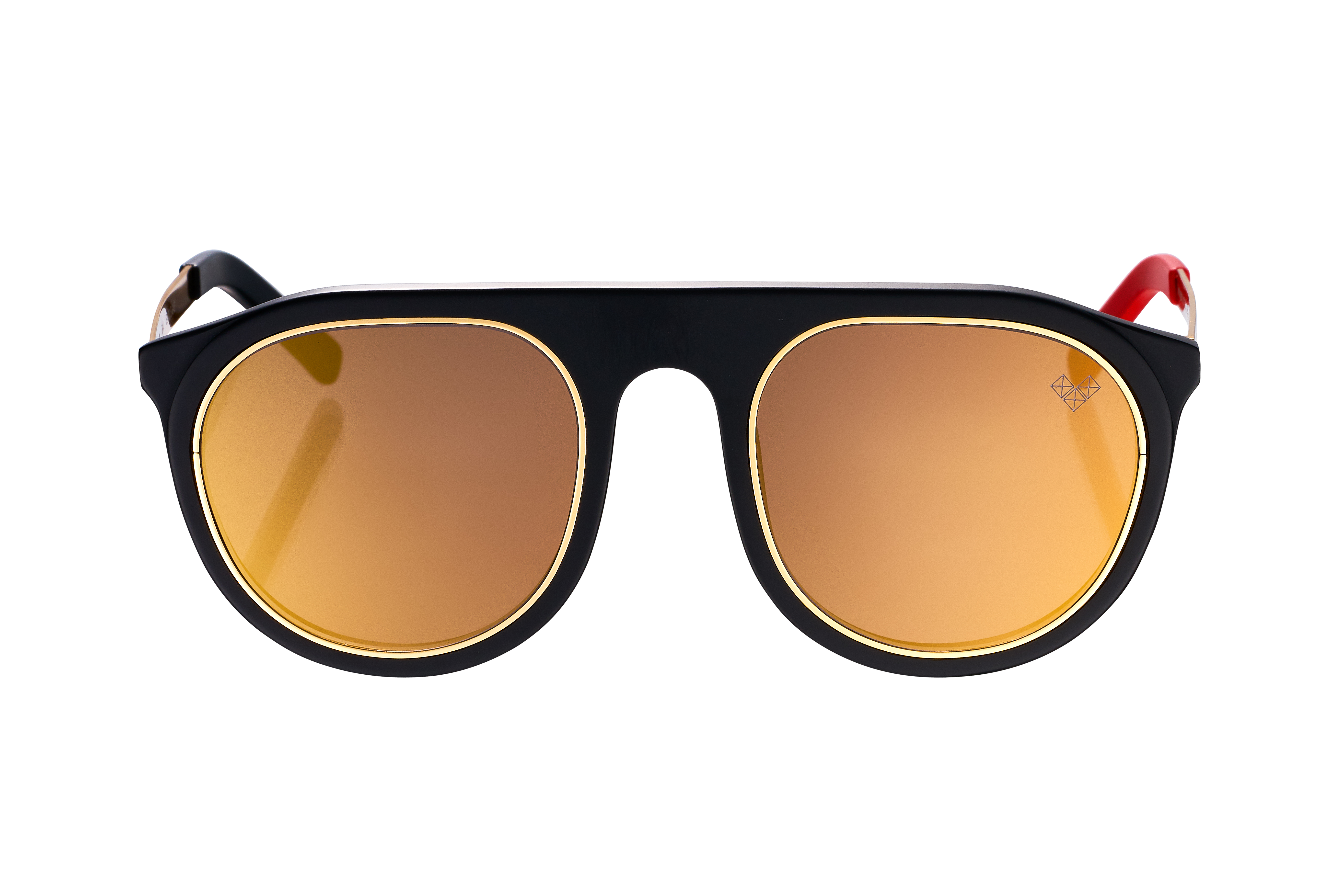 TROY-Tr-4 With Gold Mirror Lenses