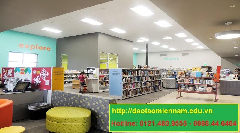 trung cấp thư viện thiết bị trường học tại hóc môn