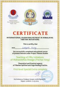 Vajrayana Retrit Yoga_Lumbini_Nepal - 50 vangs
