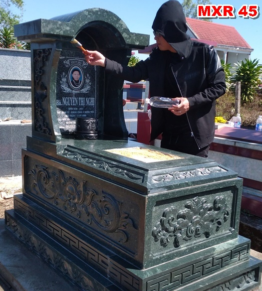 thời gian xây lăng mộ hợp phong thủy - đá phát tâm