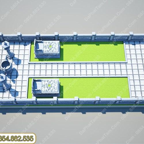 Thiết Kế - Phối Cảnh Khu lăng mộ đá - Đá Xanh Rêu - Khu Lăng Mộ ở Hải Phòng
