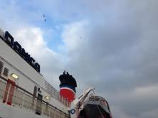 Aboard the Stena Danica