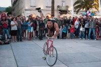 This guy is a performer from Quebec, Canada. He was hilarious to watch, and fun to chat with after. It was entertaining to stumble across so many French Canadians while we were in Split.