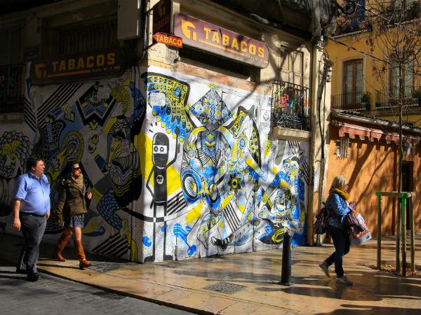 street art David de Limon el Carmen valencia