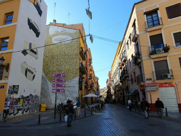 street art escif valencia el carmen