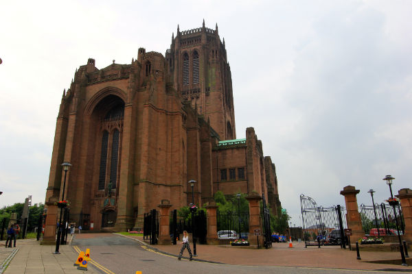 De Kathedraal van Liverpool kerk highlight
