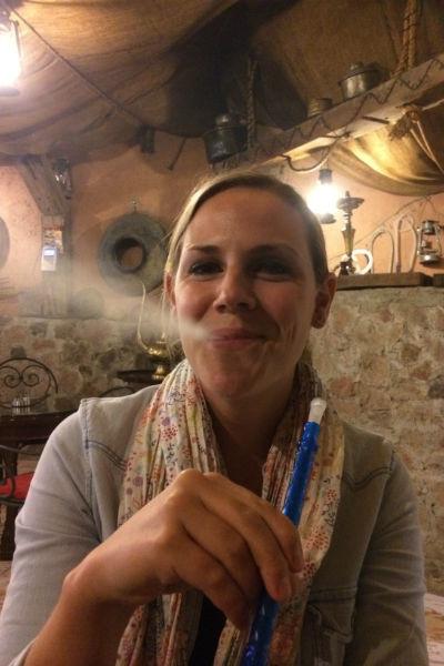 Een sheesha hoort er natuurlijk wel bij in Jordanië
