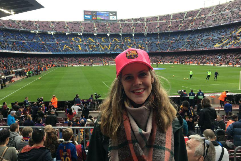 FC Barcelona in Camp Nou Spanje