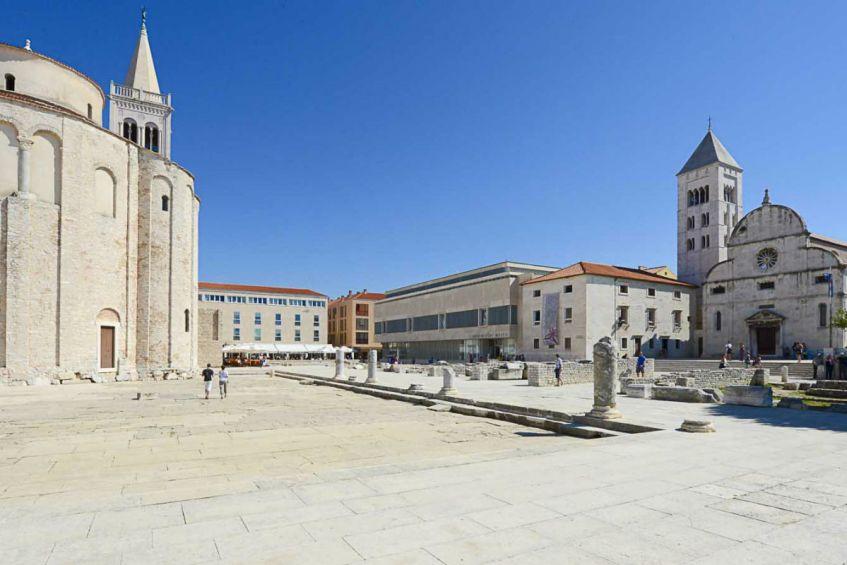 De ronde kerk van Sint Donatus in Zadar