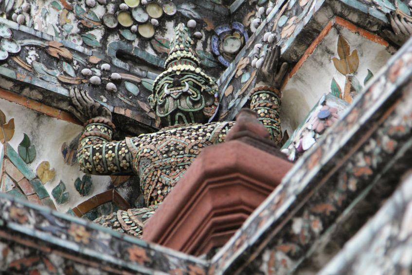 Bezoek tijdens je Thailand route ook zeker Wat Arun in Bangkok