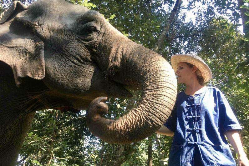 Doen in Chiang Mai - Als een heuse mahout op pad met mijn olifant in de jungle