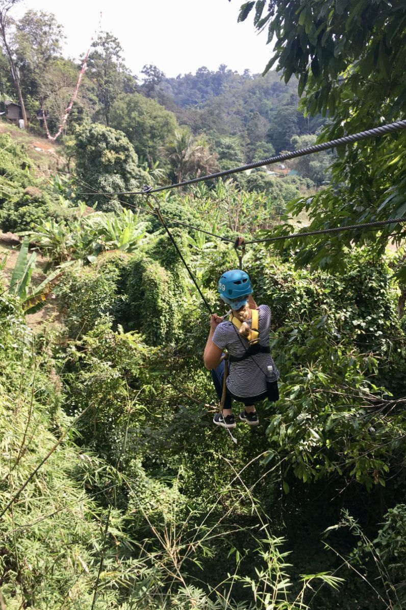 Doen in Chiang Mai - Ziplinen met Eagle Track Zipline door de Thaise jungle