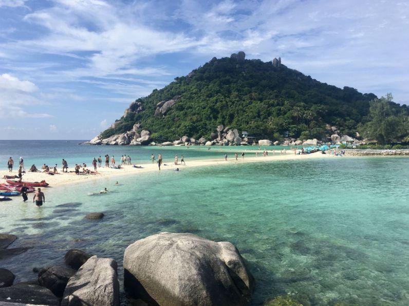 Nang Yuan Island nabij Koh Tao