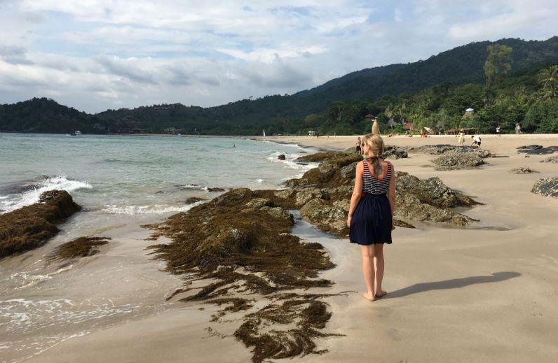 Prachtig Kantiang Beach op Koh Lanta eiland in Thailand