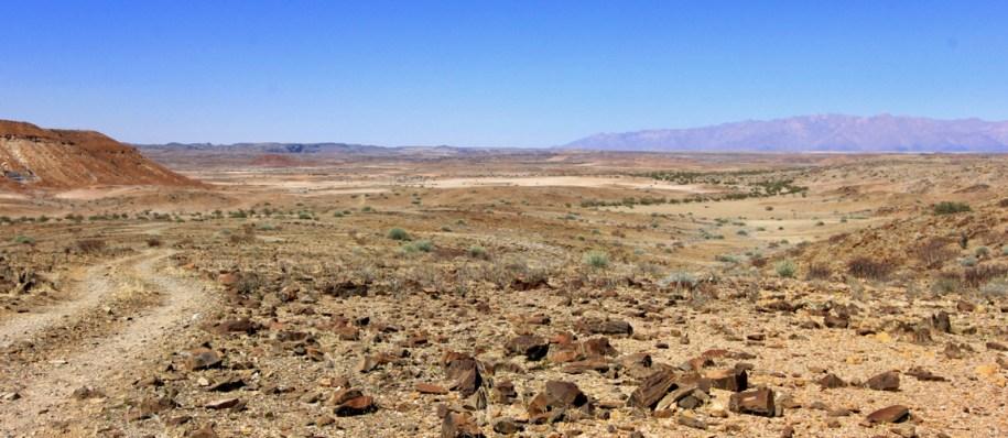 Damaraland is een van de mooiste plekken tijdens route Namibie