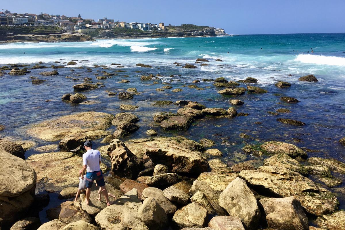 Leven in Sydney bekijk het fijne Bronte Beach